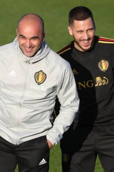 "Roberto Martinez ""est convaincu"" qu'Eden Hazard reviendra avant l'Euro"