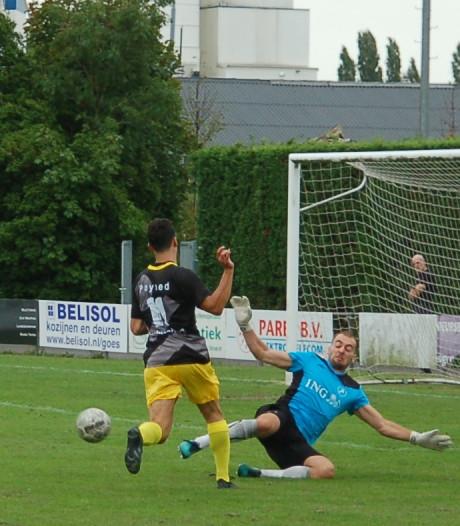 Staphorst bekert verder in Goes na curieuze treffer Ter Avest