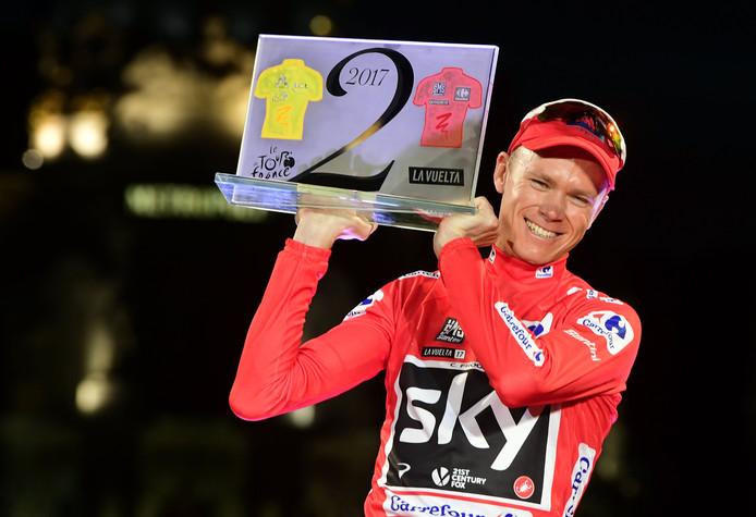 Chris Froom won dit jaar de 72ste editie van de Vuelta.