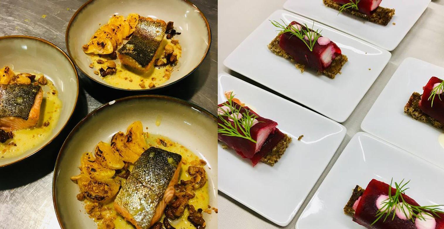 Chef Stefaan Couttenye, van restaurant 't Hommelhof, en zijn partner Els Dejonckheere starten met een takeaway in Watou én Oostende