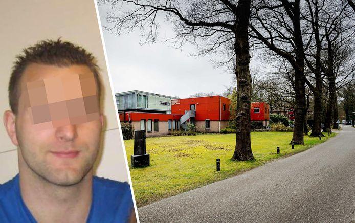 Michael P. werd opgepakt bij een kliniek in Den Dolder