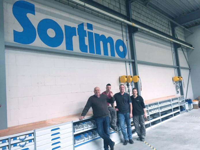 Medewerkers van Sortimo in Eindhoven.