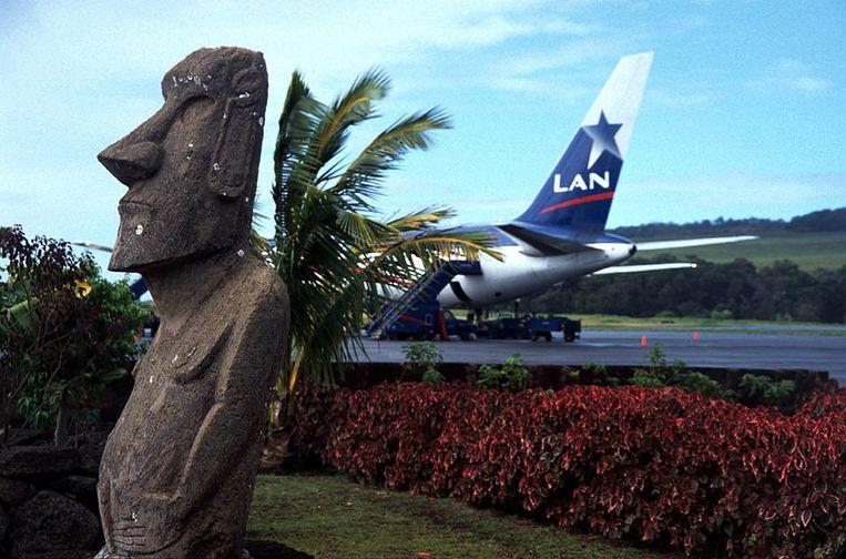 De luchthaven van Paaseiland.