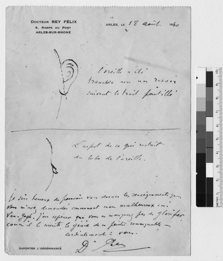 Uit de tentoonstelling: Van Goghs oor. Beeld Bernadette Murphy / van Gogh Museum