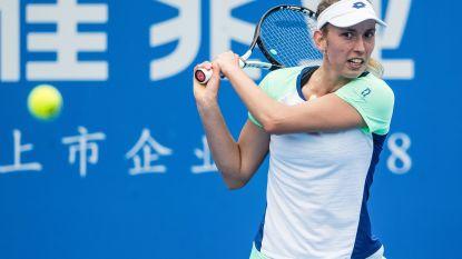 Elise Mertens staat in kwartfinales en blijft zo op koers voor derde titel in Hobart