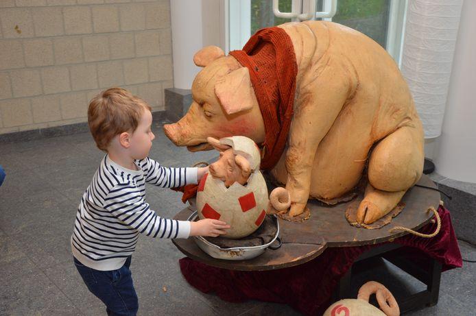 Er viel heel wat te beleven voor kinderen tijdens de familiedag in het feestweekend voor 25 jaar cc De Plomblom.