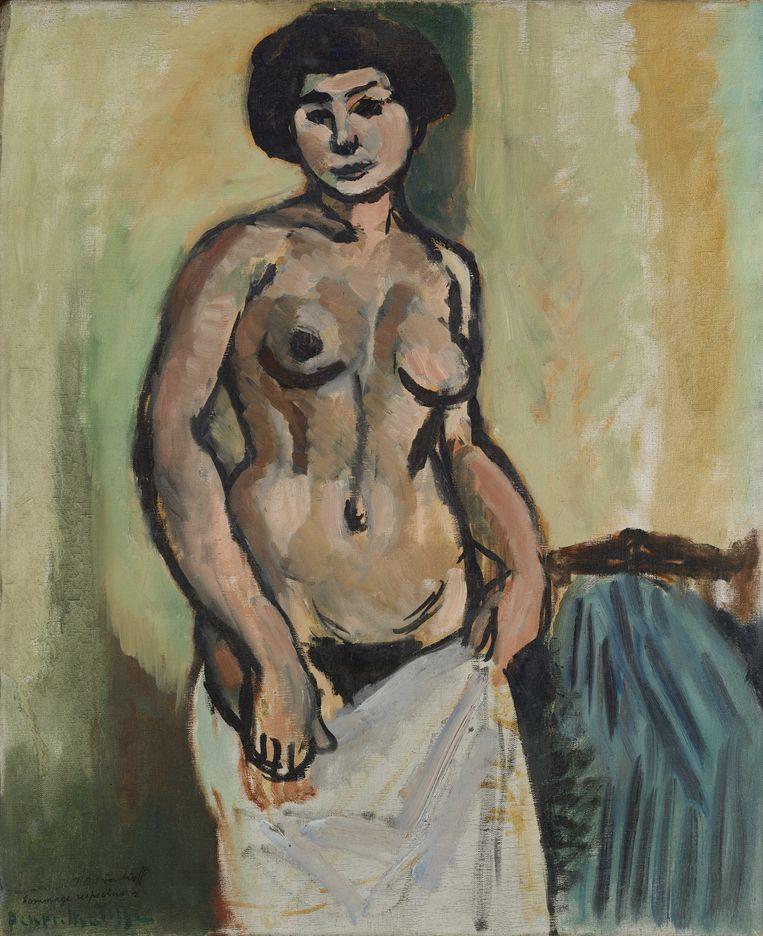 Henri Matisse, Naakt, 1908. Tijdelijk te zien in de Hermitage Amsterdam. Beeld © State Hermitage Museum, St Petersburg