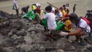 Meer dan 160 mijnwerkers omgekomen na aardverschuiving in Myanmar