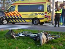 Fietser gewond geraakt na aanrijding in Waddinxveen