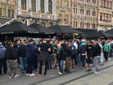 Fans Saint-Etienne overspoelen de stad