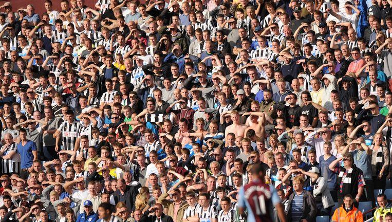 Fans van Newcastle United