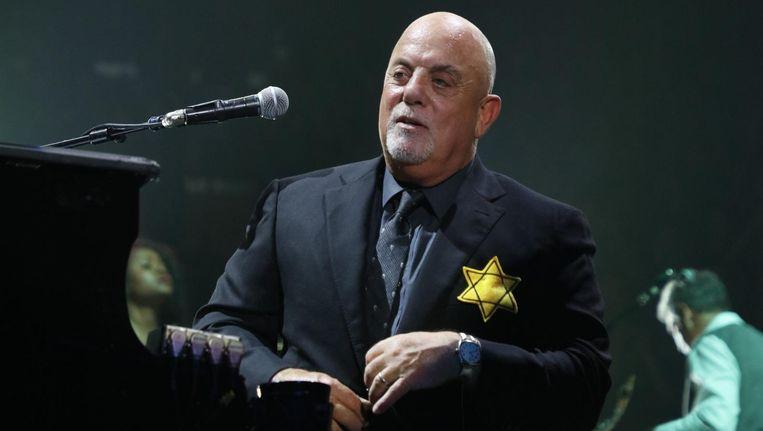 Billy Joel in Madison Square Garden. Beeld getty