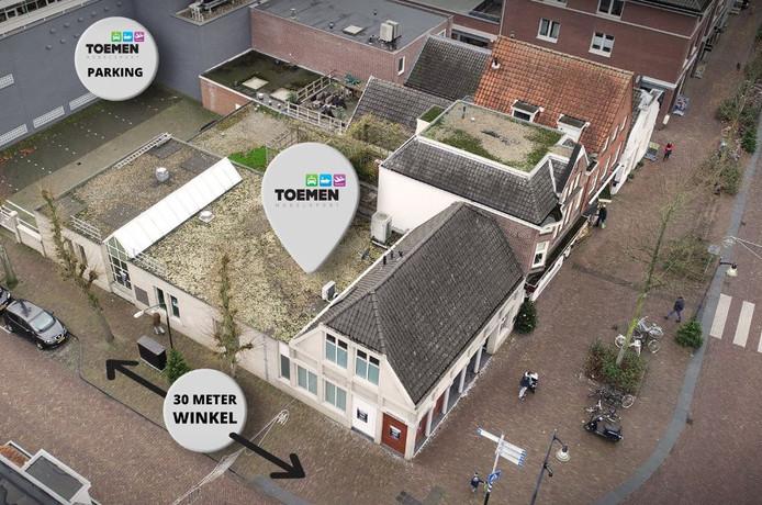 Toemen Modelbouw trok begin 2019 in het pand dat ABN AMRO aan de Dorpsstraat achterliet.