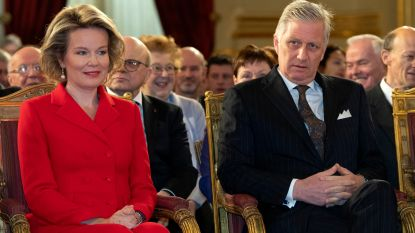 Vorstenpaar te gast bij Van Hool en De Loods