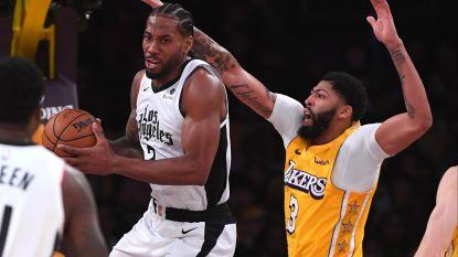 Kawhi Leonard schittert bij Los Angeles Clippers in stadsderby tegen LA Lakers