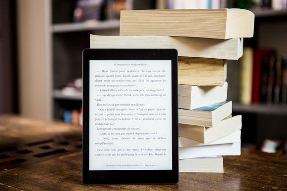 Een eReader is gewoon een stapel boeken in één toestel.