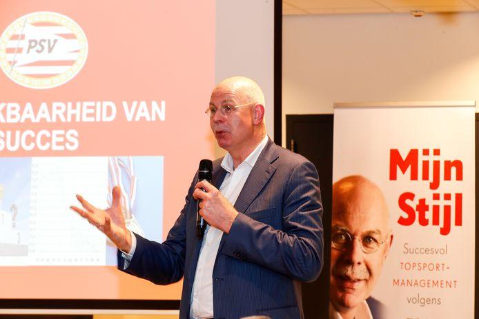 Toon Gerbrands in 2017 bij de presentatie van het boek 'Mijn Stijl'.