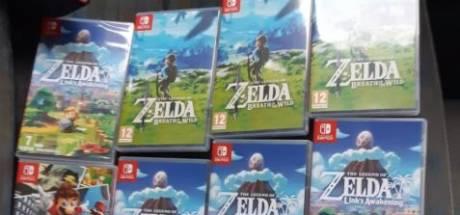 Dieven pikken elf videospelletjes, maar worden gepakt