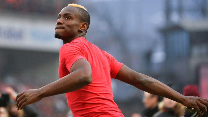 Paul-José Mpoku speelde zondag tegen Anderlecht zo goed als zeker voor het laatst voor de Rouches.