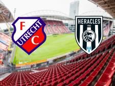 LIVE | Kan Heracles in Utrecht een 2-0 achterstand ombuigen?