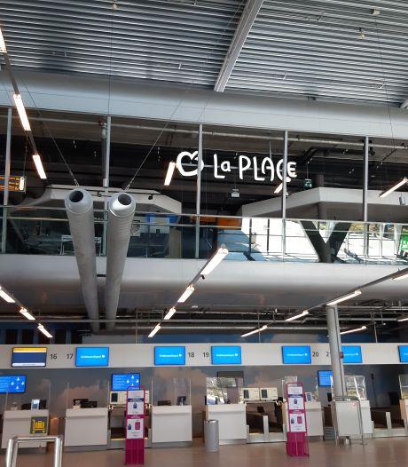 De stilte is bijna tastbaar op Eindhoven Airport