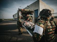 Geneeskundig bataljon oefende in Vlissingen