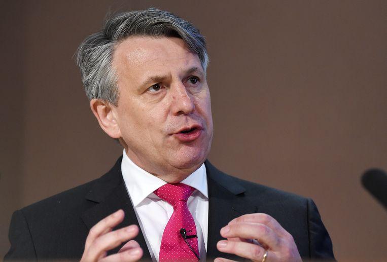 Shell-topman Ben van Beurden. Beeld EPA