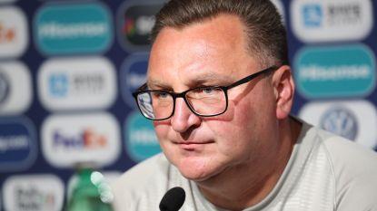 """Poolse bondscoach: """"Hadden vooraf schrik van België"""""""
