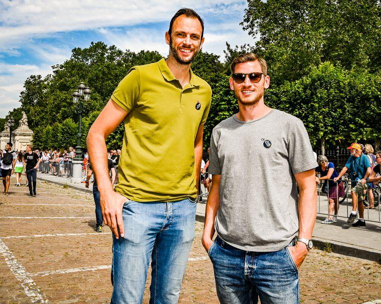 Tomas Van Den Spiegel en Jan Vertonghen.