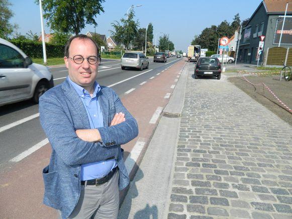 Vincent Laroy was tot vorig jaar schepen in Lovendegem.