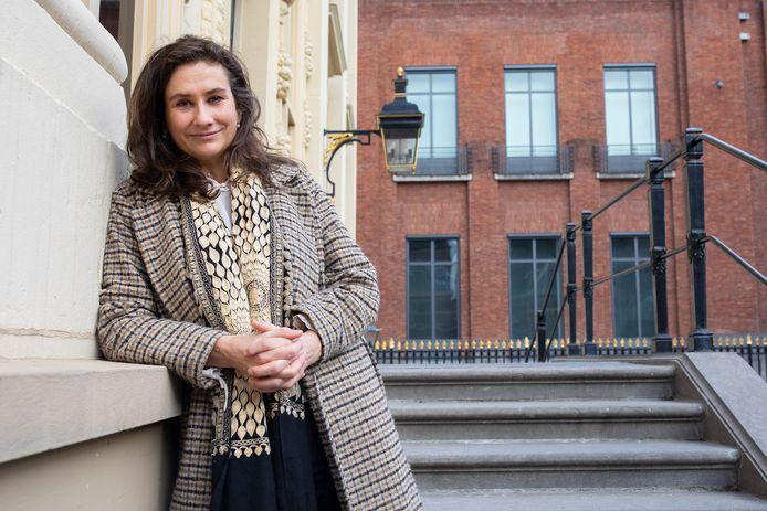 Martine Gosselink, de nieuwe directeur van het Mauritshuis.