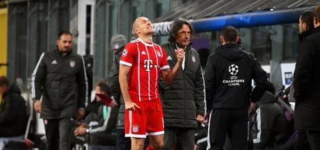 'Robben keert pas na winterstop terug'