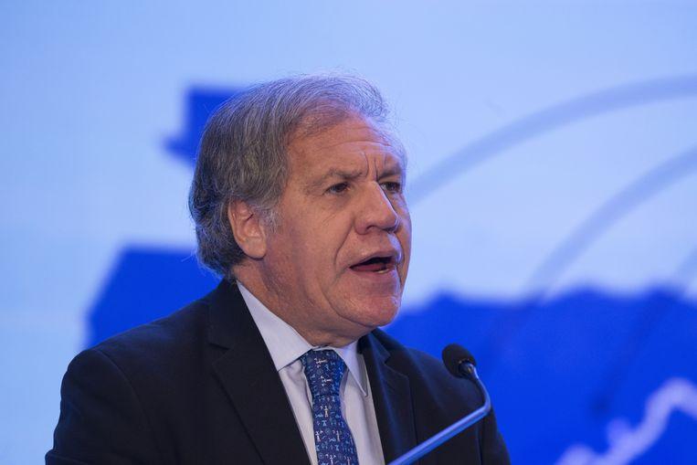 Luis Almagro, secretaris-generaal van de Organisatie van Amerikaanse Staten (OAS)