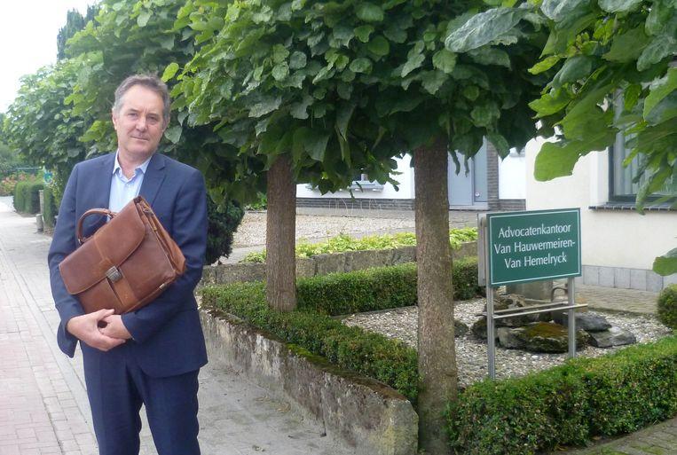 Advocaat Eric Van Hauwermeiren.