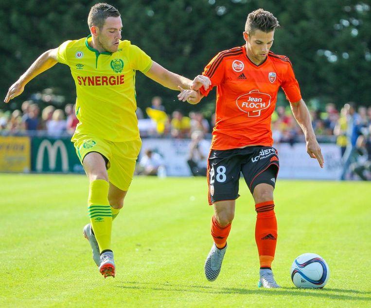 Jordan Veretout (links) trekt naar Aston Villa