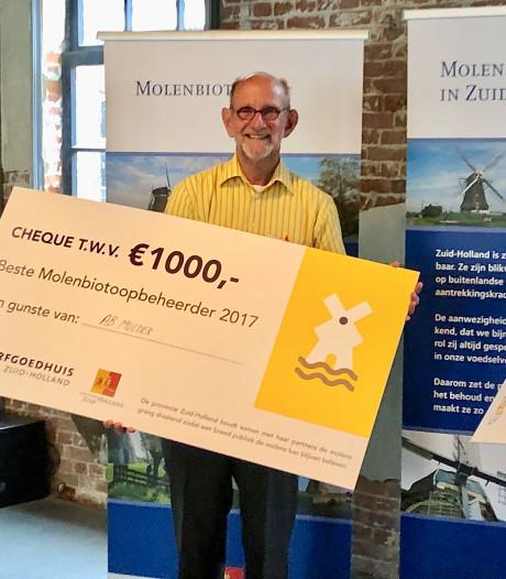 Molenaar Ab Mulder van Windlust wint prijs