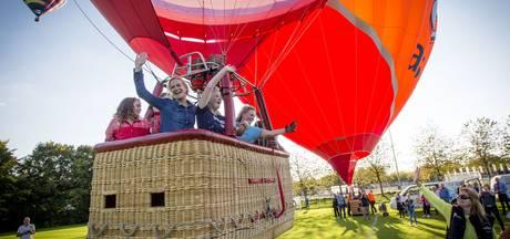 Delden: de avond van je leven in een luchtballon