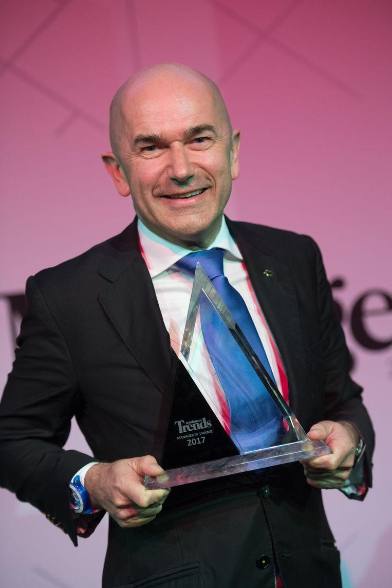 Jean-Pierre Lutgen, CEO van Ice-Watch.