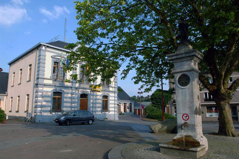 Gemeentehuis in Huldenberg.