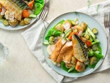 Wat Eten We Vandaag: Hollandse aardappelsalade met gerookte makreel