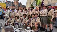 Scouts vieren 70ste verjaardag met optocht