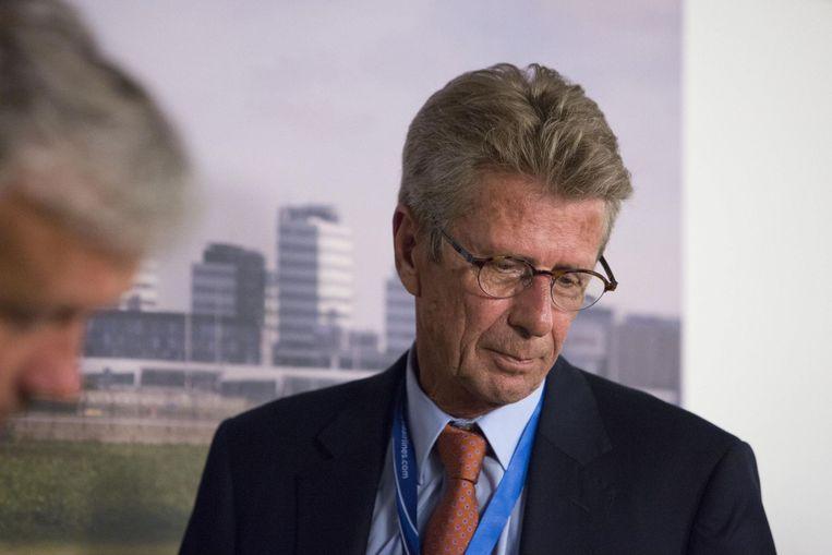 vicepresident van Malaysia Airlines Europa, Huib Gorter.