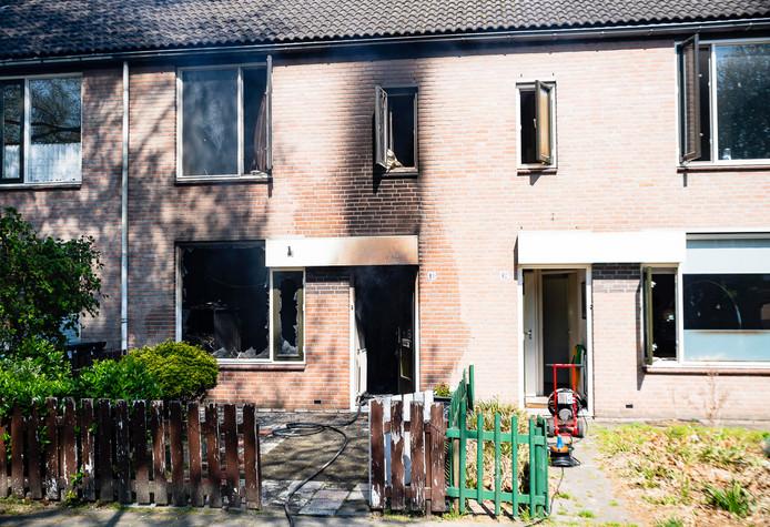 Woningbrand Tilburg