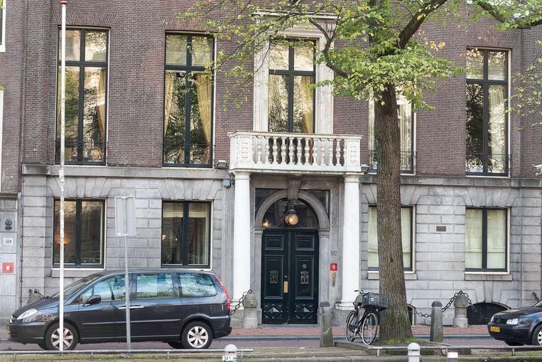 De ambtswoning van de burgemeester op de Herengracht. Beeld ANP