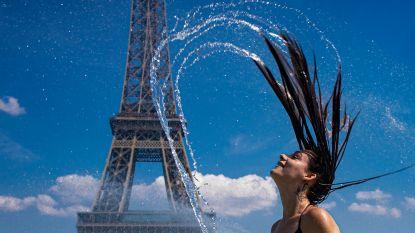 Europa kreunt onder verschroeiende hitte: tot 45 graden in Frankrijk, records sneuvelen op Mont Blanc en in Duitsland