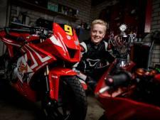 Slimme en snelle Teun (12) uit Oldenzaal pakt zijn eerste, nationale motortitel