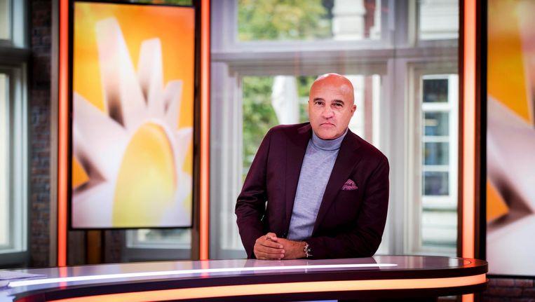 John van den Heuvel kan al een tijdje niet meer kan aanschuiven in de studio van RTL Boulevard aan het Leidseplein. Beeld anp