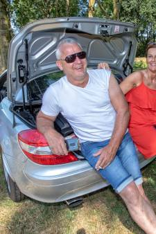 Parking langs A12 is al in vakantiesfeer