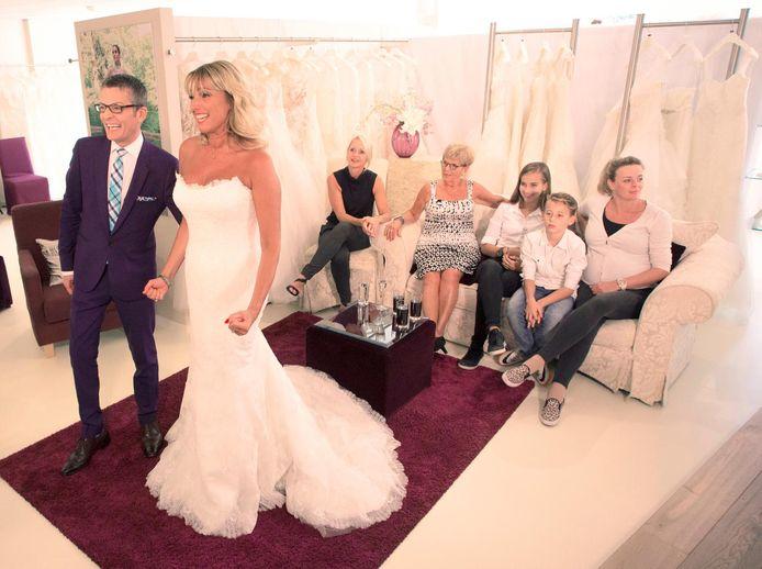 Alweer een gelukkige bruid...
