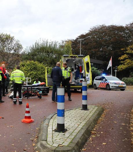 Vrouw op de scooter gewond na val in Koudekerk